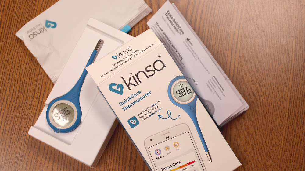 CPS students to receive Kinsa Thermometers