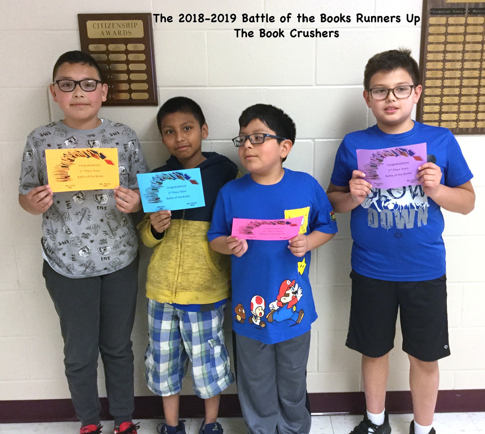 Battle of the Books Runner-up