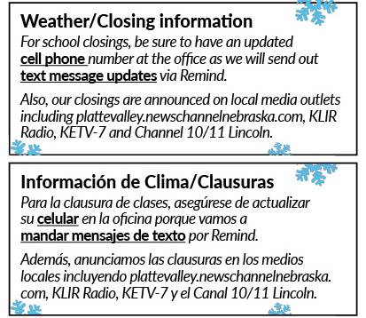 Weather Emergency Information