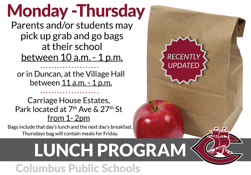CPS Lunch Program updates 3-24-2020