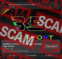 Playoff game livestream SCAM information