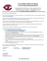 CHS Activities Department Announces New Online Registration