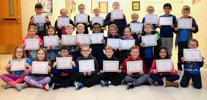 4th Grade Honor Roll