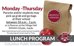 CPS Lunch Program updates