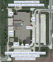 For Review: New drop off procedures at Centennial