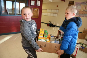 Can-Can: Student Council collects 1,305 food items