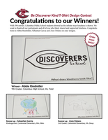 Be Discoverer Kind T-Shirt Winner Announced