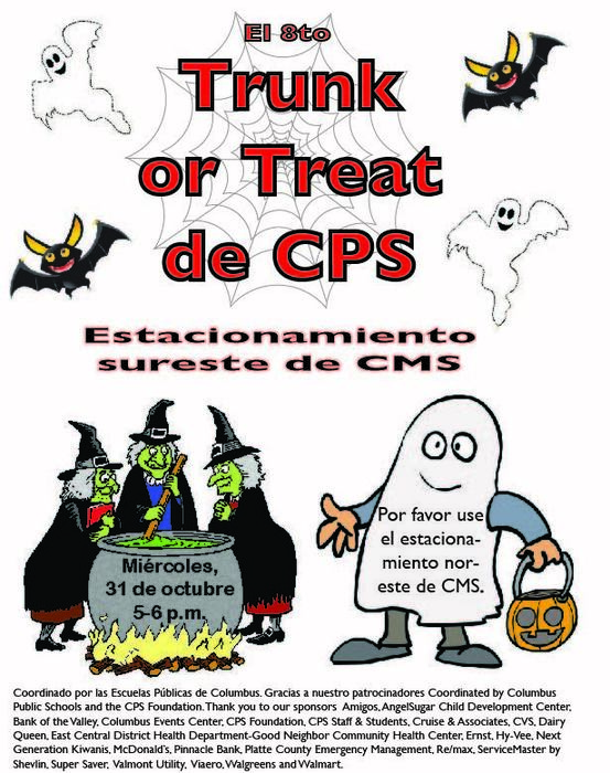 Spanish Trunk or Treat Poster