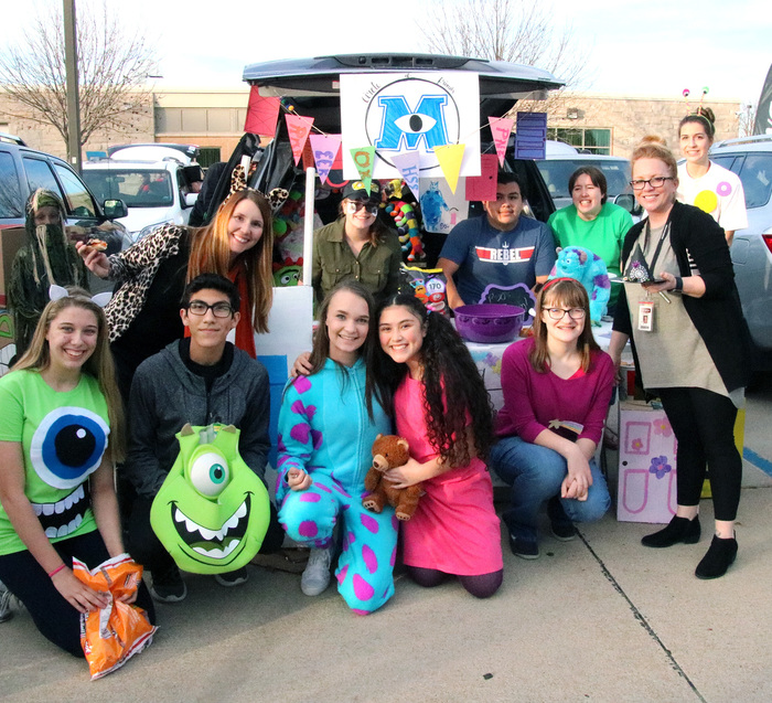 CHS Circle of Friends won Best Student Trunk