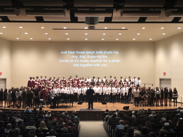 CHS Mass Choir Sing Sing Along Finale