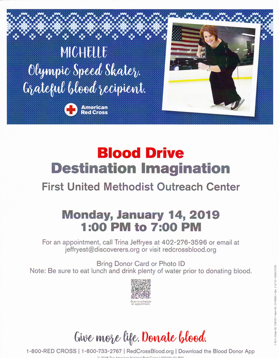 Blood Drive to benefit CPS DI teams