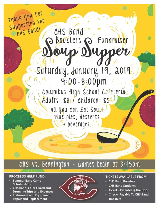 CHS Band Boosters Soup Supper