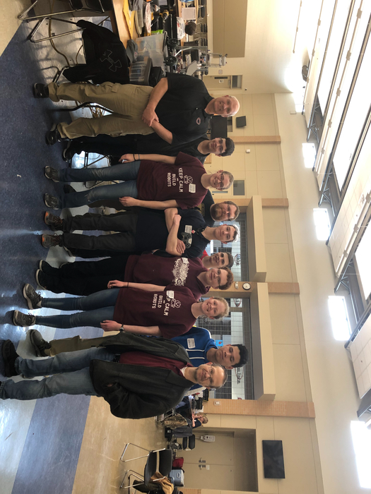 Discoverer Robotics Team Photo
