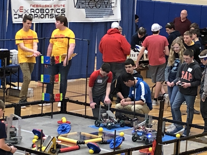Robotics Team members