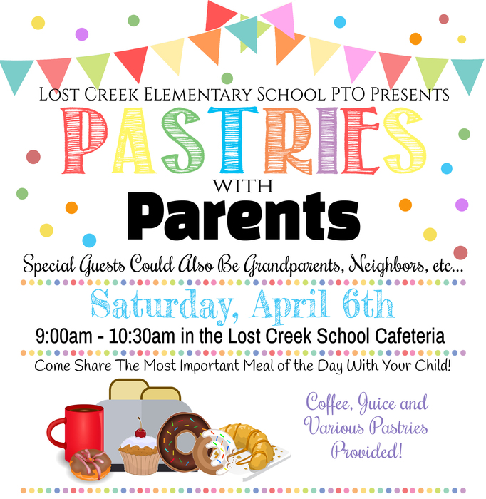 Pastries with Parents Event!