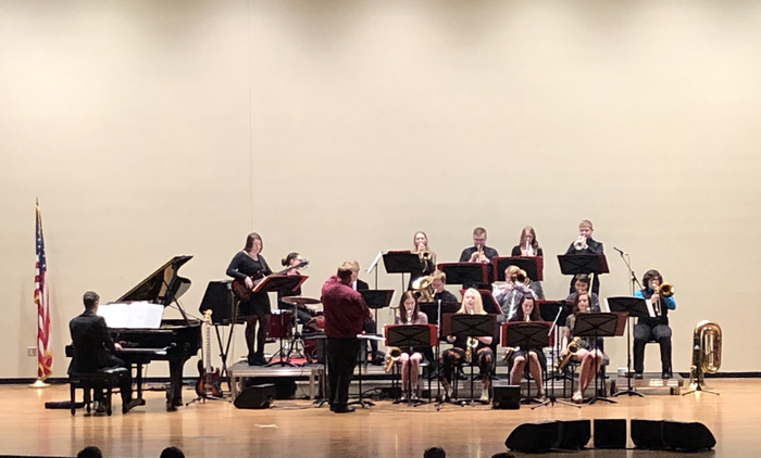 Jazz Band in performance