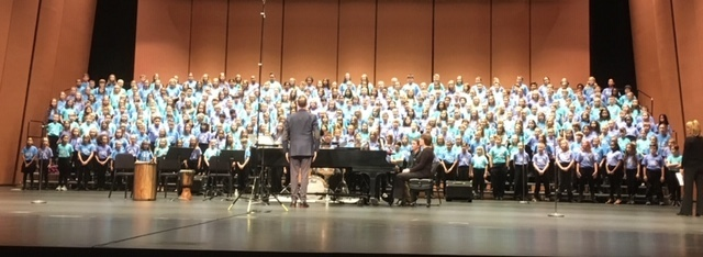 350 Member All-State Children's Choir