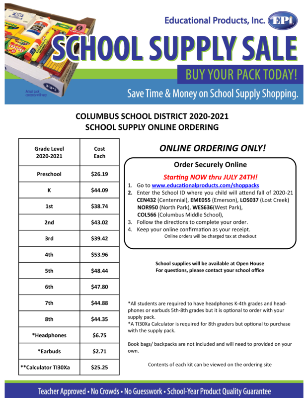 CPS offers new way to order school supplies.